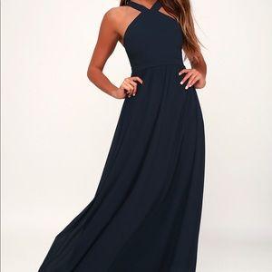 Navy Blue never worn before Bridesmaids dress